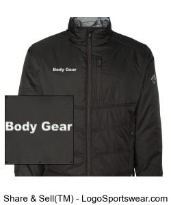 Eclipse Thinsulate Lined Puffer Jacket Design Zoom